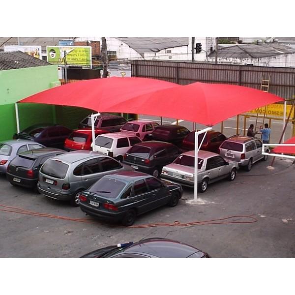 Cobertura de Estacionamento em Sumaré - Sombreiro Estacionamento
