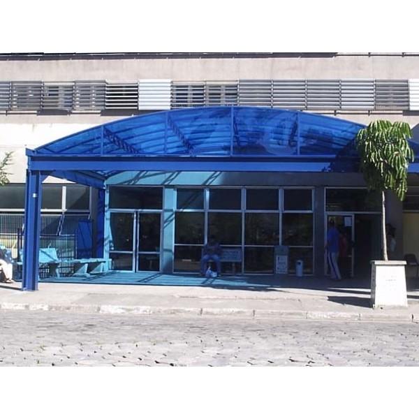 Cobertura de Policarbonato Preço em São Lourenço da Serra - Toldo Policarbonato