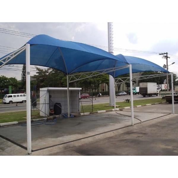 Cobertura Estacionamento Condomínio no Jaraguá - Coberturas para Estacionamentos