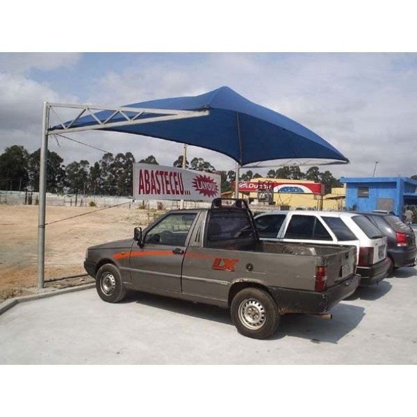 Cobertura para Estacionamento de Carros no Cambuci - Sombreiro Estacionamento