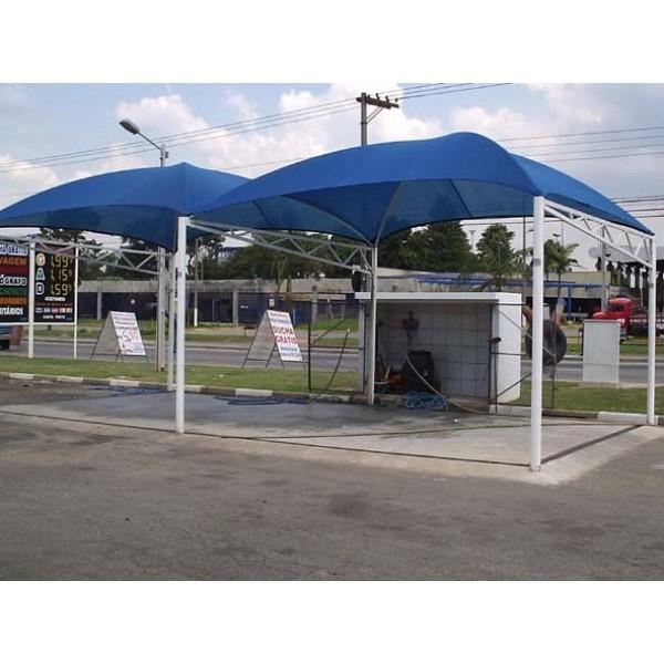 Cobertura para Estacionamento de Condomínio em Poá - Toldo de Estacionamento