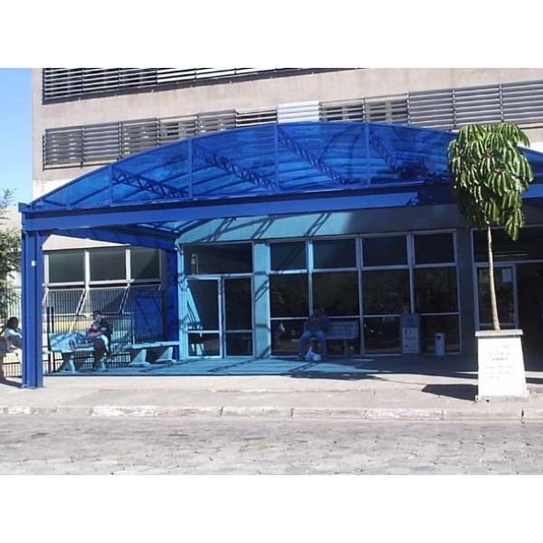 Cobertura Policarbonato em São Lourenço da Serra - Policarbonato Toldos