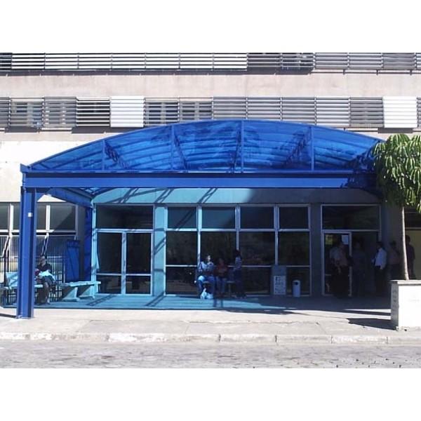 Cobertura Policarbonato Preço em Santa Isabel - Toldo de Policarbonato