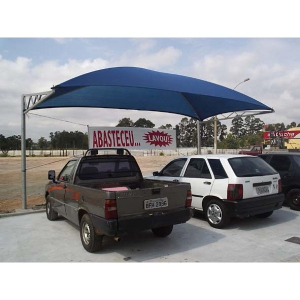 Coberturas de Estacionamento no Campo Grande - Toldo de Estacionamento
