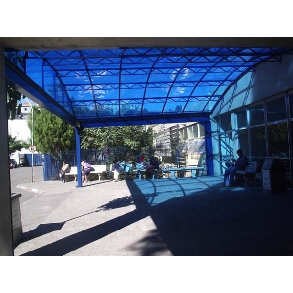 Coberturas em Policarbonato no Jardim Ângela - Cobertura de Policarbonato no ABC