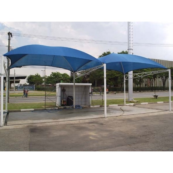 Coberturas para Estacionamentos na Liberdade - Toldo de Estacionamento
