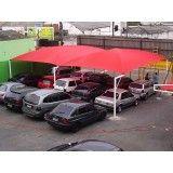 Cobertura de Estacionamento na Cidade Jardim