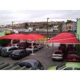 Toldo de Estacionamento preço em Santa Cecília