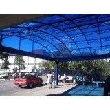 Toldo de Policarbonato em Santa Isabel