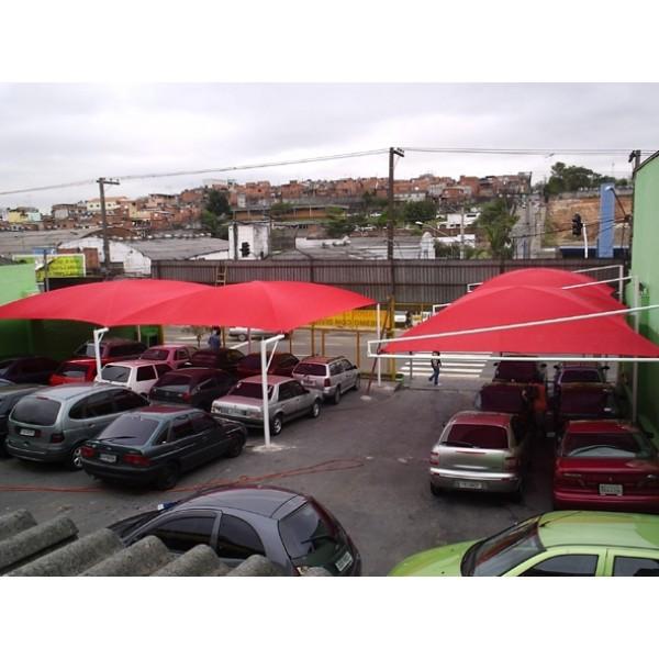 Toldo de Estacionamento Preço em Santa Cecília - Sombreiro Estacionamento