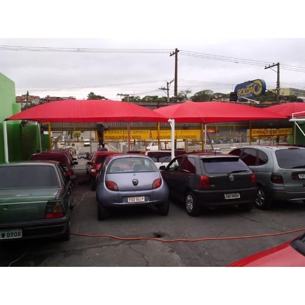 Toldo de Estacionamento Preços em Cajamar - Sombreiro Estacionamento