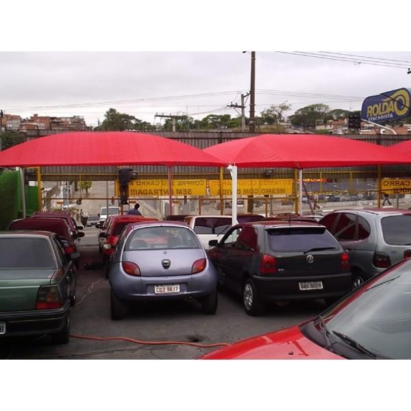 Toldo de Estacionamento Valor na Cidade Tiradentes - Sombreiro Estacionamento