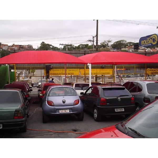 Toldo de Estacionamento Valor no Tatuapé - Cobertura para Estacionamentos