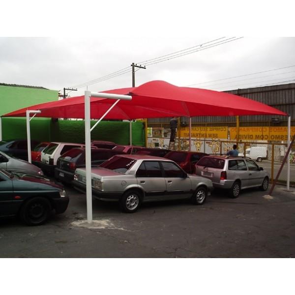 Toldo de Estacionamento Valores na Santa Efigênia - Cobertura para Estacionamento de Condomínio