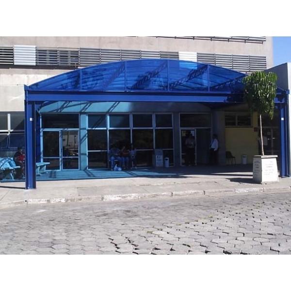 Toldo em Policarbonato na Vila Andrade - Toldo de Policarbonato Preço