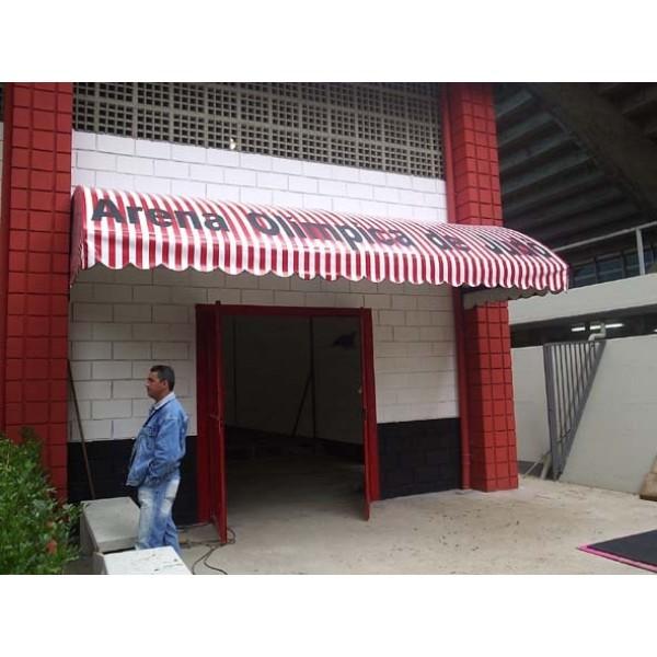 Toldos em Lona Preços em Caieiras - Preço Toldos de Lona
