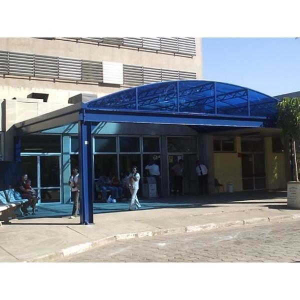 Toldos em Policarbonato Preços no Jardim São Luiz - Toldo Policarbonato Preço