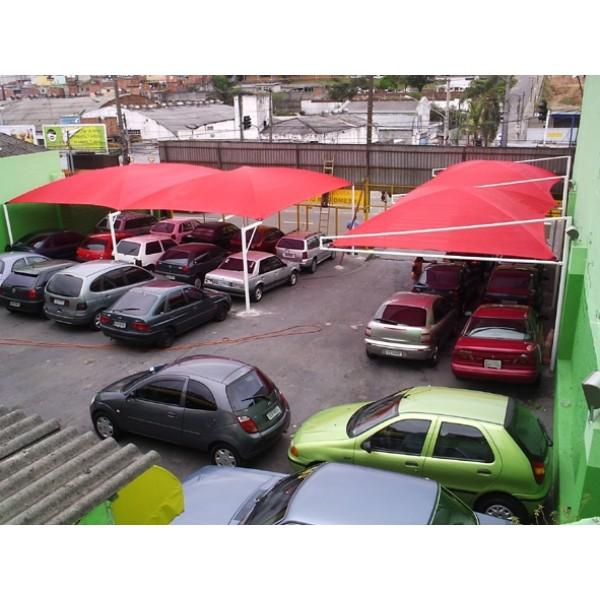 Toldos para Estacionamento em Cachoeirinha - Sombreiro Estacionamento