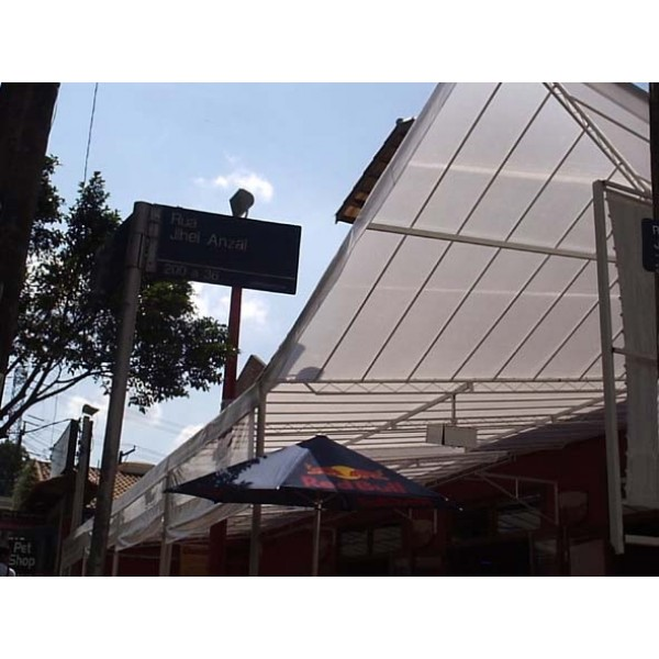 Toldos Policarbonato Valores no Jardim São Paulo - Toldo de Policarbonato